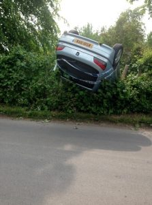Another car crash